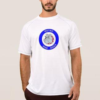 Chiens fous de métro - nouveau T-shirt d'équilibre