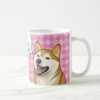 """Chiens japonais heureux de Shiba Inu les """"sont Mug"""