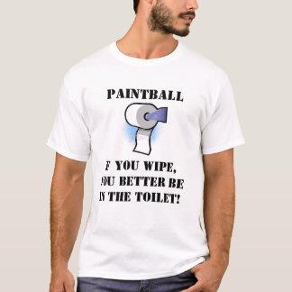 Chiffon de Paintball T-shirt