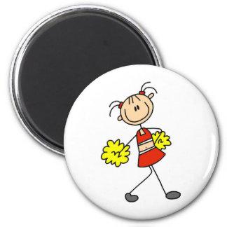 Chiffre Cheerleading mignon aimant de bâton