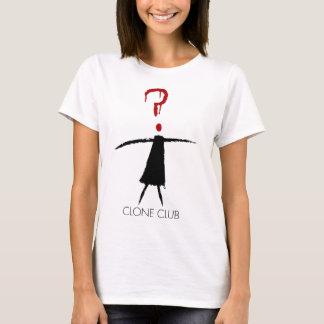 Chiffre de bâton de club de clone de noir orphelin t-shirt