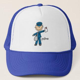 Chiffre de bâton de travailleur postal casquette