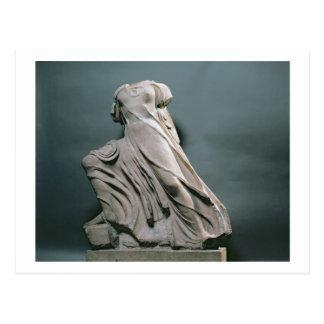 Chiffre de nymphe, acroterion du temple de Phigal Carte Postale