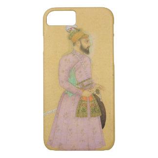 Chiffre debout d'un prince de Mughal, du petit Coque iPhone 7