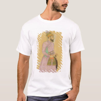 Chiffre debout d'un prince de Mughal, du petit T-shirt