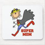 Chiffre maman superbe Mousepad de bâton Tapis De Souris
