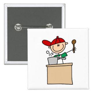 Chiffre masculin T-shirts et cadeaux de bâton de c Badges