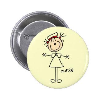 Chiffre simple T-shirts et cadeaux de bâton d'infi Badge Avec Épingle