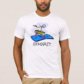 Chiffre T-shirts de bâton de gymnaste de cheval de