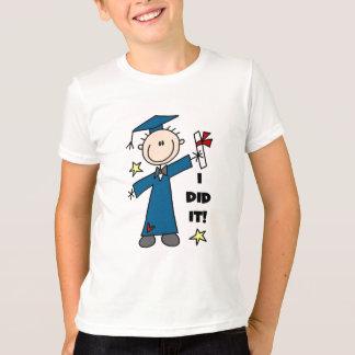Chiffre T-shirts et cadeaux de bâton de diplômé de