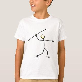 Chiffre T-shirts et cadeaux de bâton de javelot