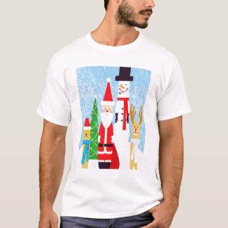 Chiffres de Noël T-shirt