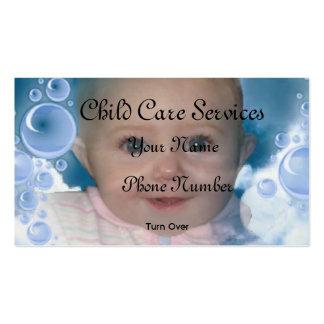 Childcare Carte De Visite Standard