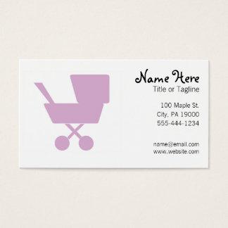 Childcare gardant les enfants la bonne d'enfants cartes de visite