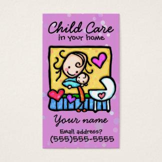 Childcare. Garde d'enfants. Babysitter. Carte