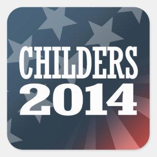 CHILDERS 2014 STICKER CARRÉ