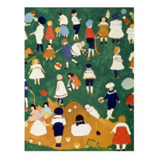 Children, 1908 carte postale