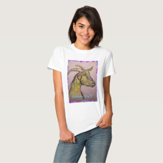 chill out goat t-shirts