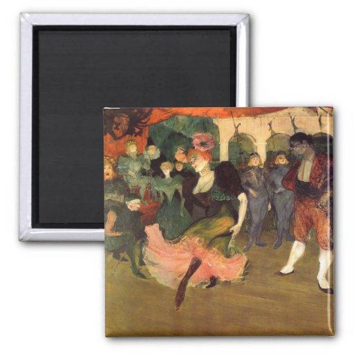 Chilperic par Toulouse-Lautrec Aimant Pour Réfrigérateur