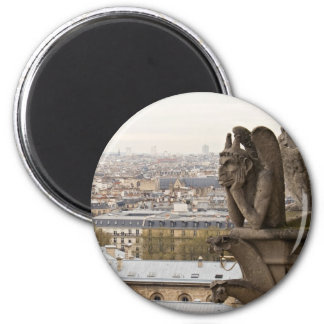 Chimère de Notre Dame de Paris Aimant Pour Réfrigérateur