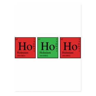 Chimie de Noël Cartes Postales
