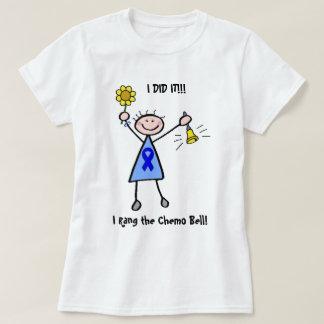 Chimio Bell - femme de cancer du colon T-shirt