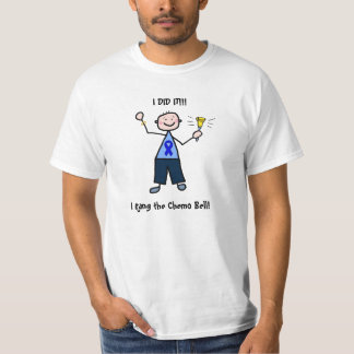 Chimio Bell - homme de cancer du colon T-shirt