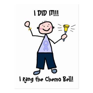 Chimio Bell - le Général Cancer Male Cartes Postales