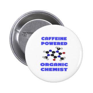 Chimiste organique actionné par caféine badge