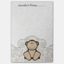 Chimpanzé de Cutelyn Note Post-it