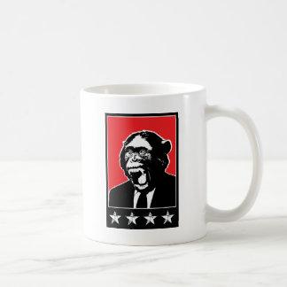 Chimpanzé de suite d'affaires mug