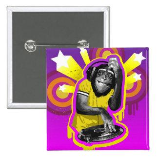 Chimpanzé DJ Badge