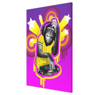 Chimpanzé DJ Toiles