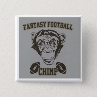 Chimpanzé du football d'imaginaire badges