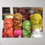 Chinatown Buddhas Affiche