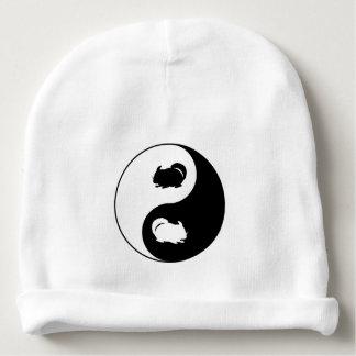 Chinchilla de Yin Yang Bonnet De Bébé