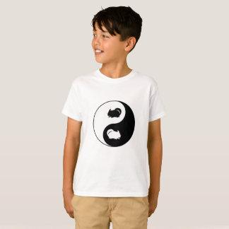 Chinchilla de Yin Yang T-shirt