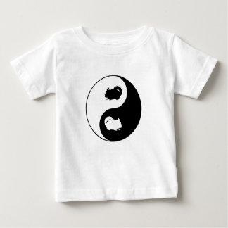 Chinchilla de Yin Yang T-shirt Pour Bébé