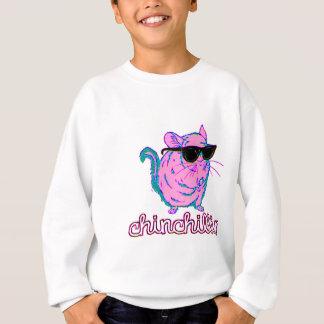 Chinchilla rose au néon de Chinchillin Sweatshirt