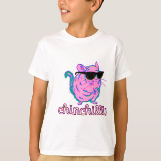 Chinchilla rose au néon de Chinchillin T-shirt