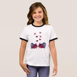 Chinchillas T-shirt Ras-de-cou