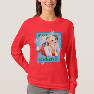 Chinois heureux de Howliday Crested T-shirt