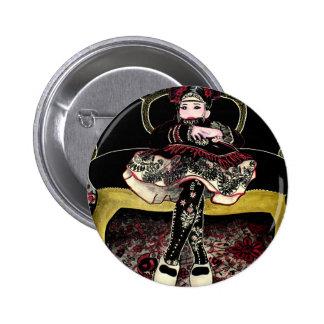 chinoise aux fleurs 3 badge