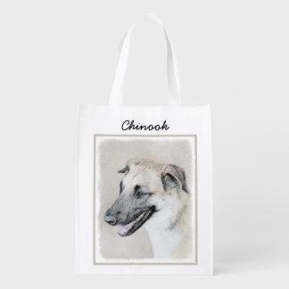 Chinook (oreilles lâchées) sacs d'épicerie réutilisables