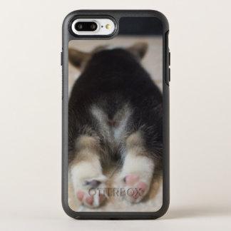 Chiot 2 de corgi de Gallois de Pembroke Coque OtterBox Symmetry iPhone 8 Plus/7 Plus