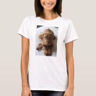Chiot adorable de Vizsla - tee - shirt de chiot de T-shirt