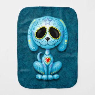 Chiot bleu de sucre de zombi linge de bébé