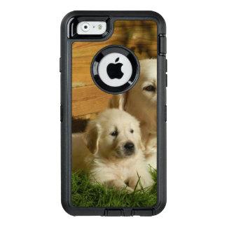 Chiot crème de golden retriever coque OtterBox iPhone 6/6s