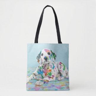 Chiot dalmatien sac