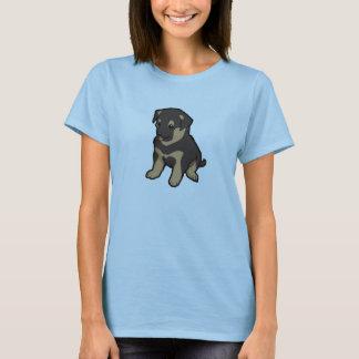 Chiot de berger allemand t-shirt